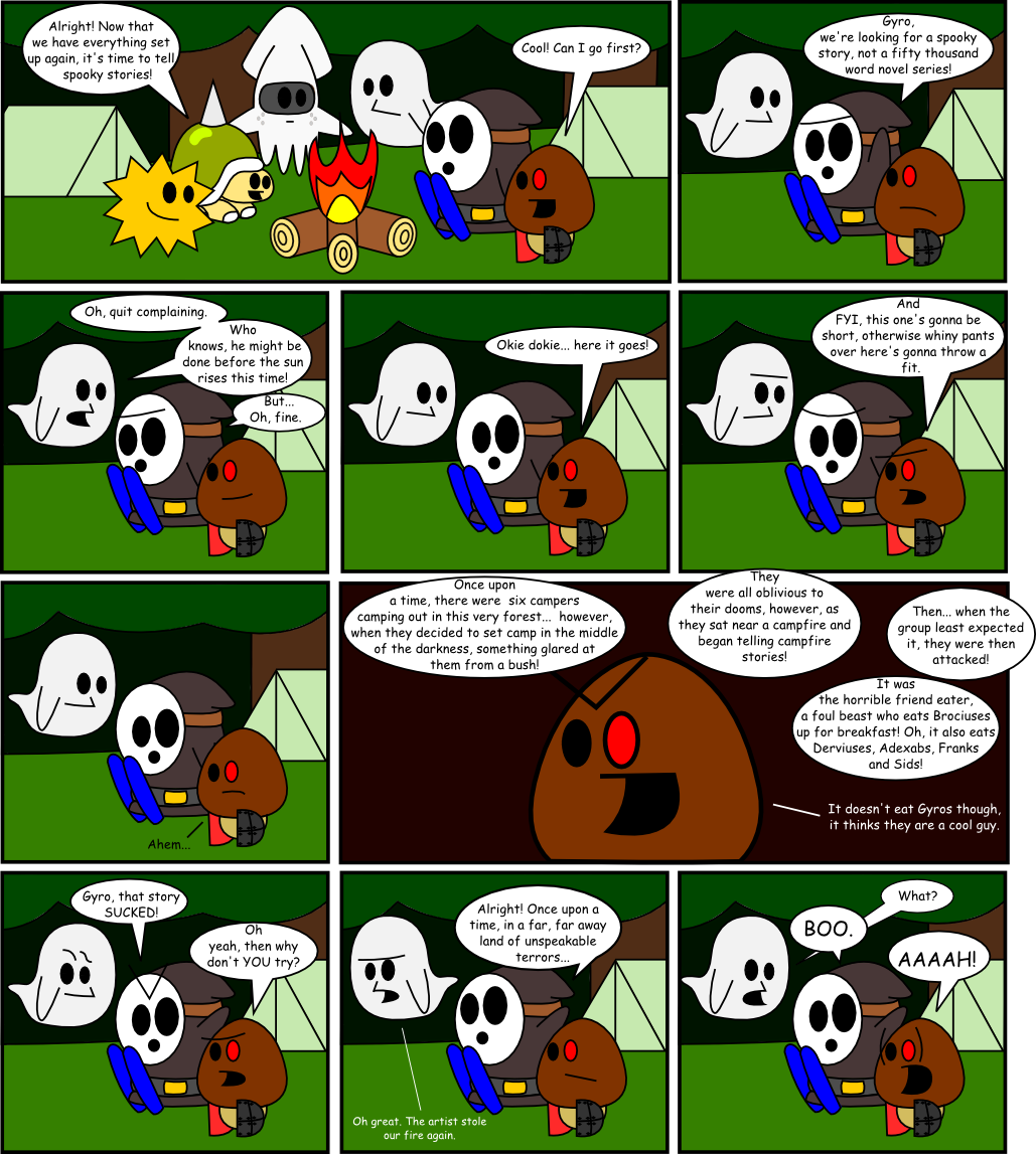 Page 9: Once Upon A Time...