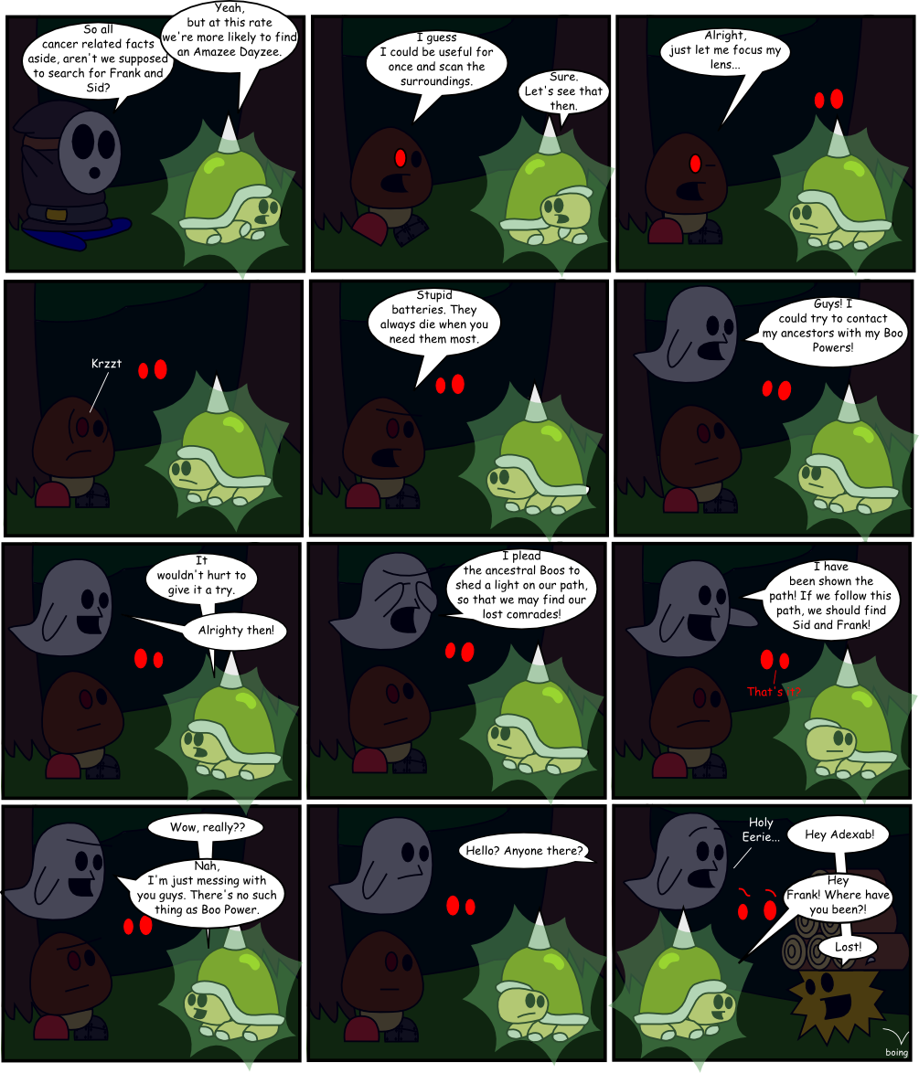 Page 7: Boo Powers