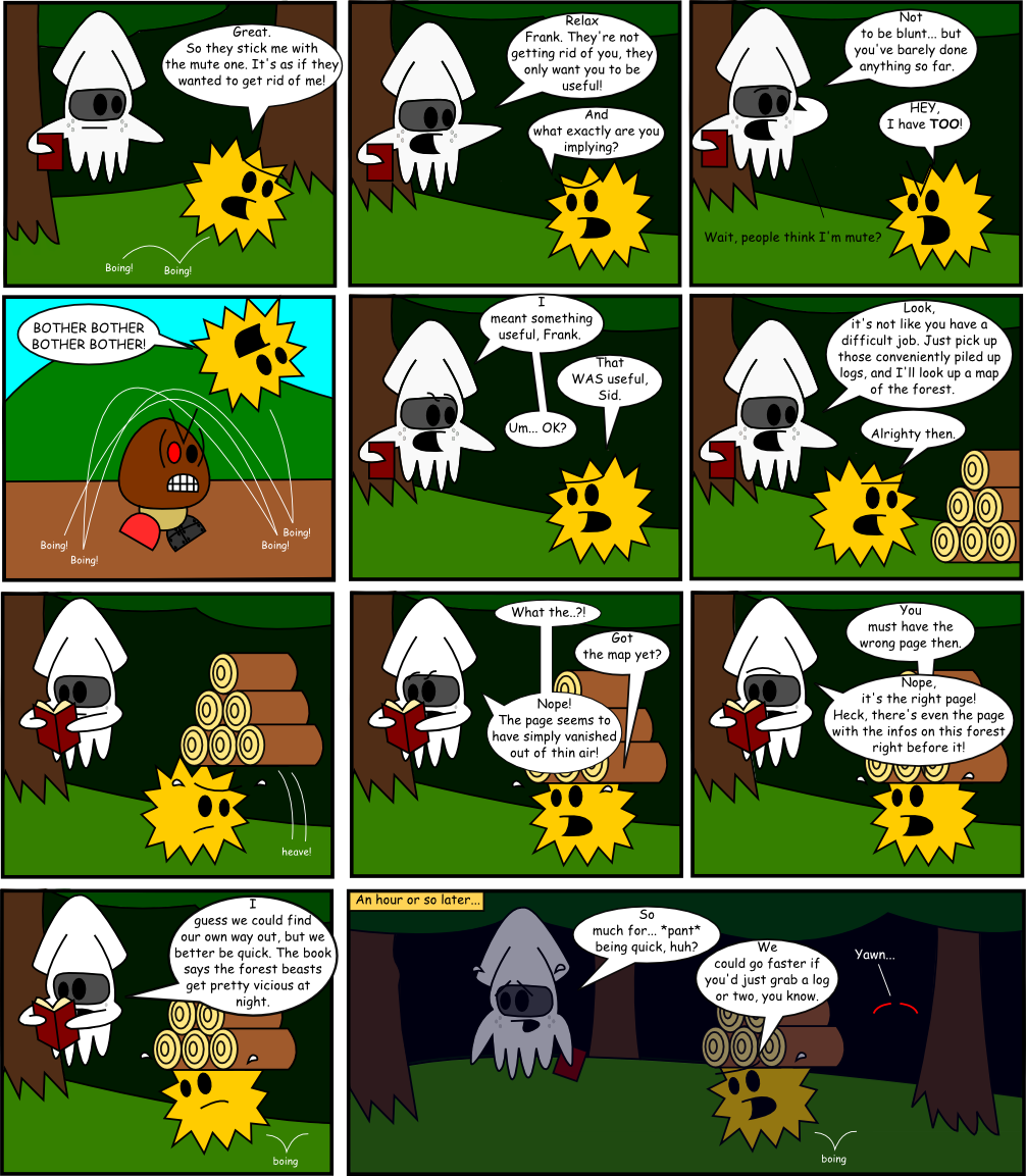 Page 4: Firewood Expedition