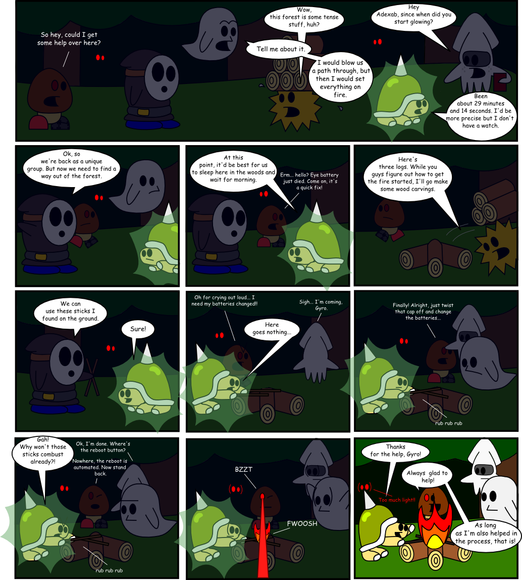 Page 8: Foundations of a Log Fire